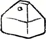 Upside-down grain measure knob